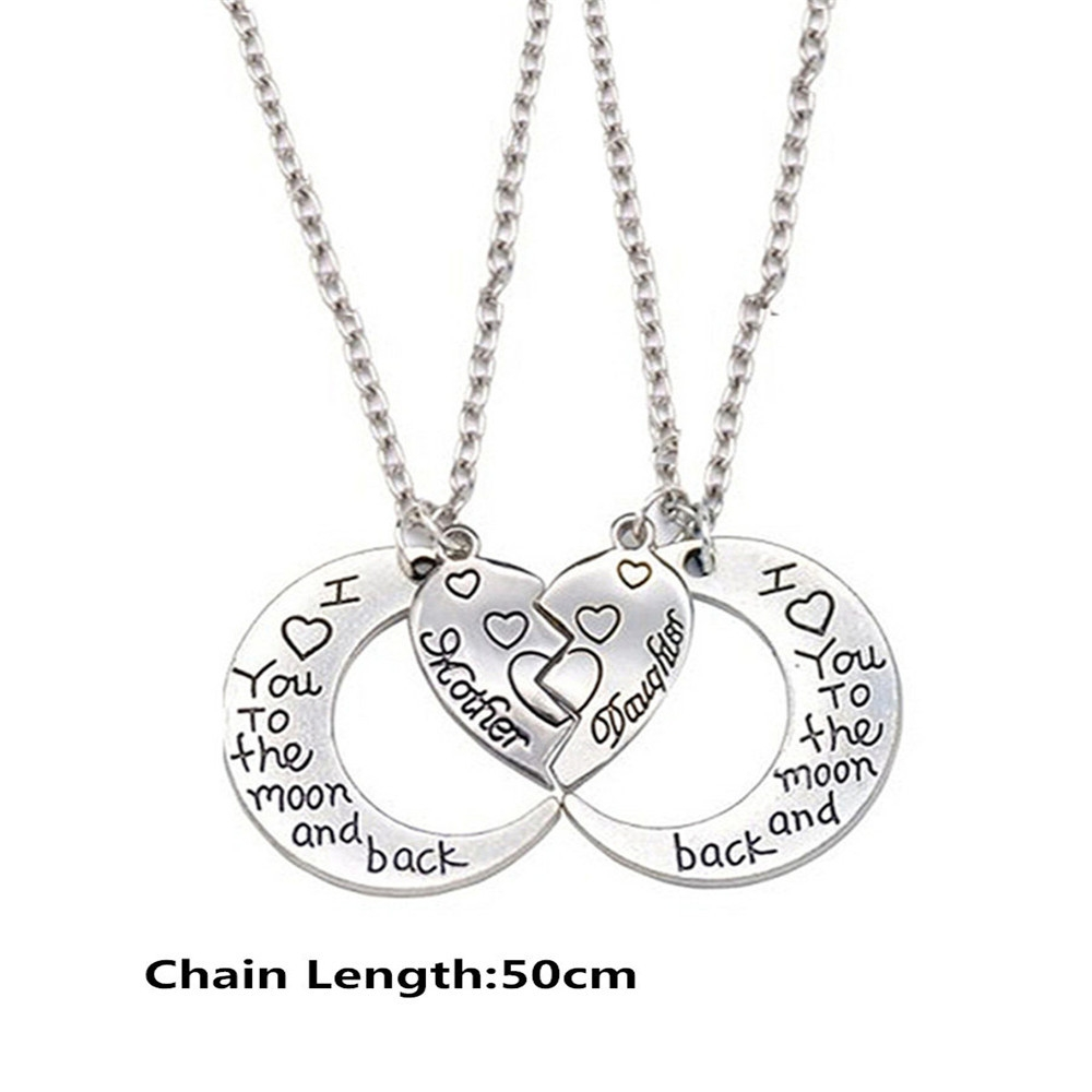 Fashion Creative Women's I Love You Double Necklace