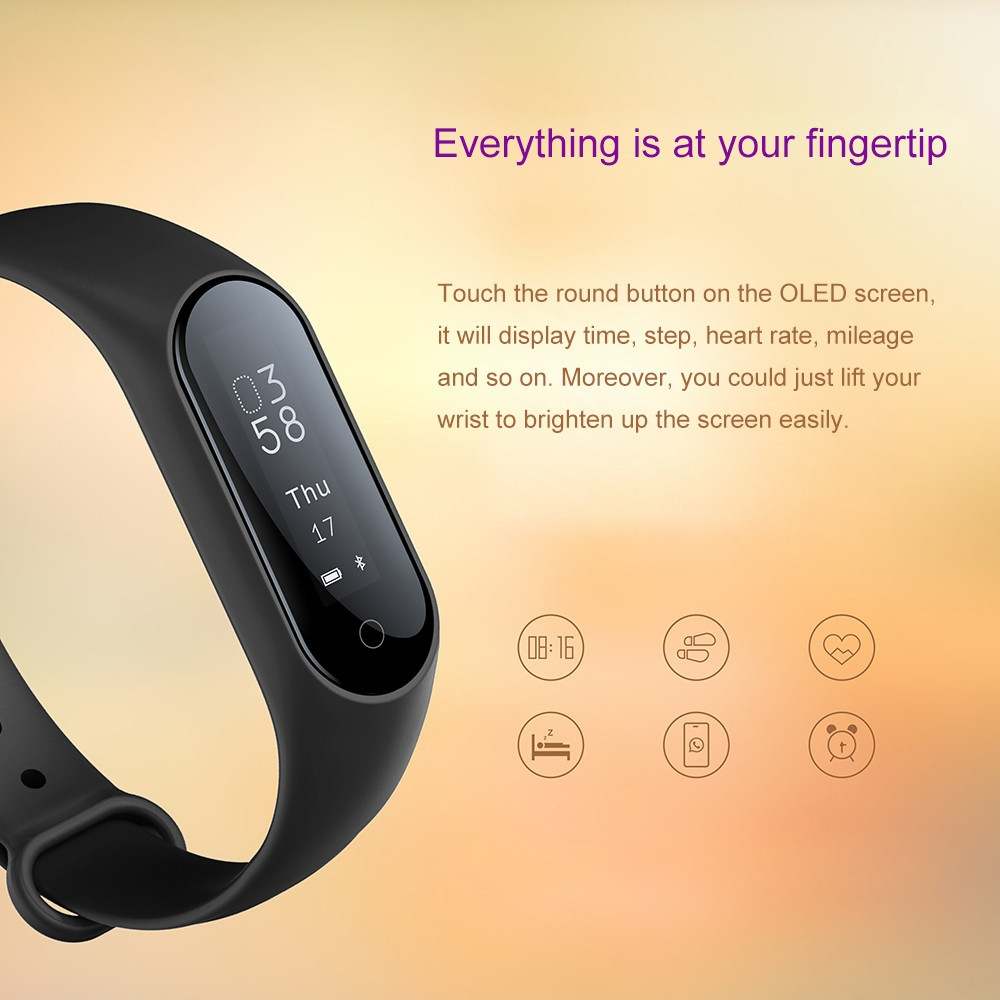 Y2 Plus Smart Wristband Heart Rate Blood Pressure Oxygen