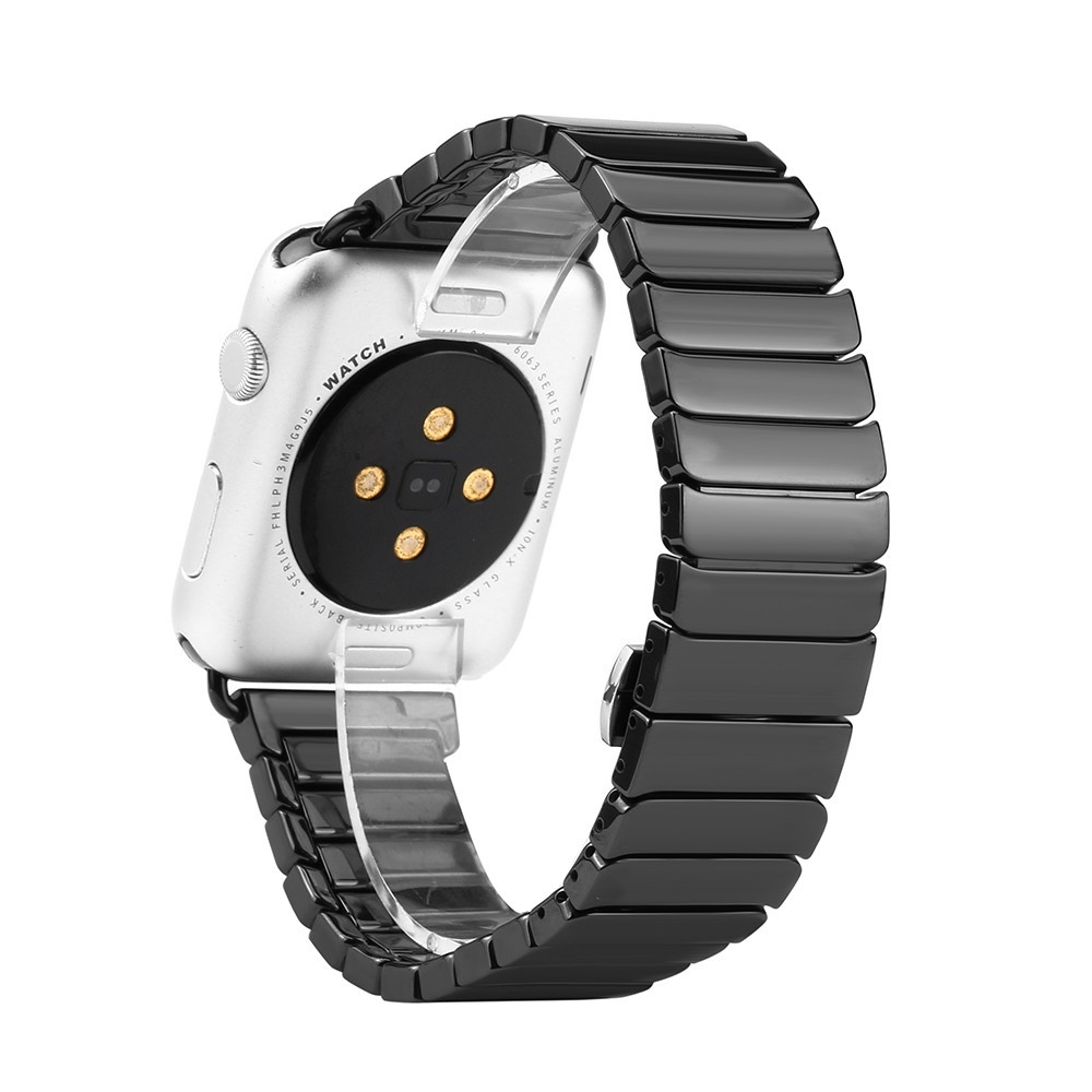 Buy Generic Watch Stainless Steel Band Replacement Strap For Apple Series 2 42mm Black 1x Bracelet 1