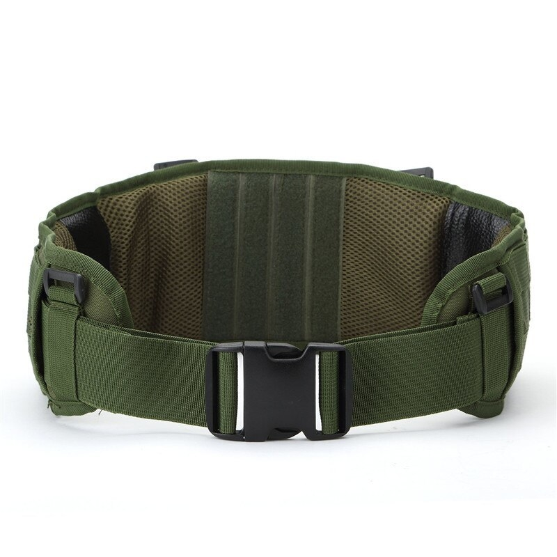 Tactical Waist Padded Belt With H-shaped Suspender 1000D Nylon Molle  Shooting Adjustable Waist Bearing Belt Band003
