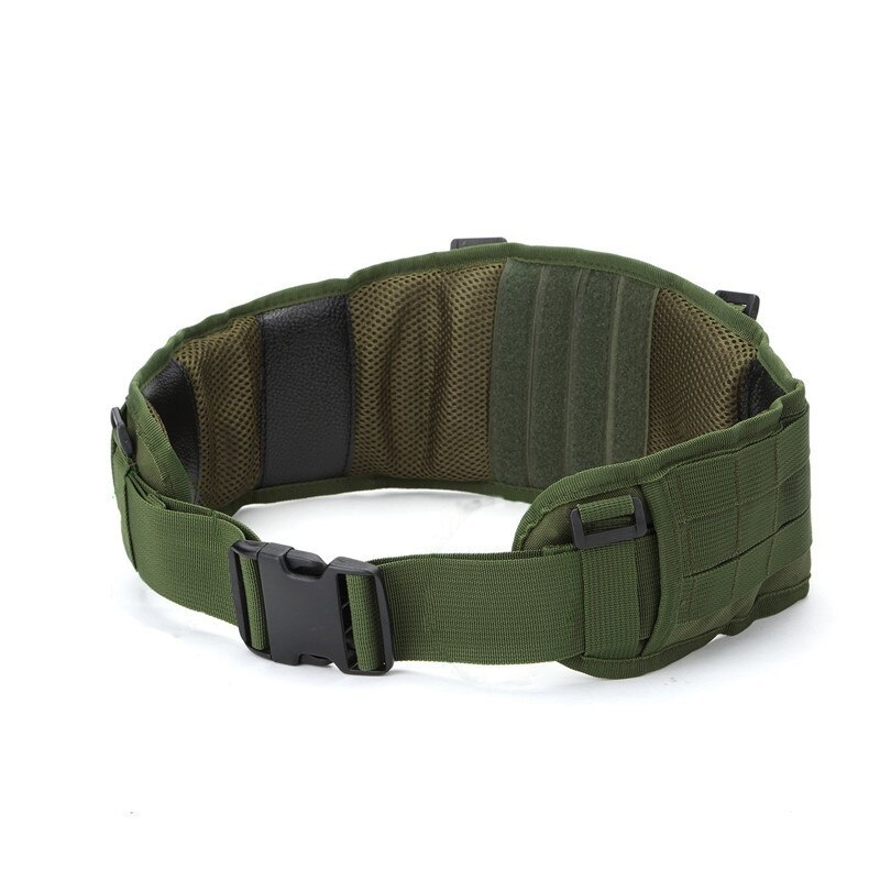 Tactical Waist Padded Belt With H-shaped Suspender 1000D Nylon Molle  Shooting Adjustable Waist Bearing Belt Band002