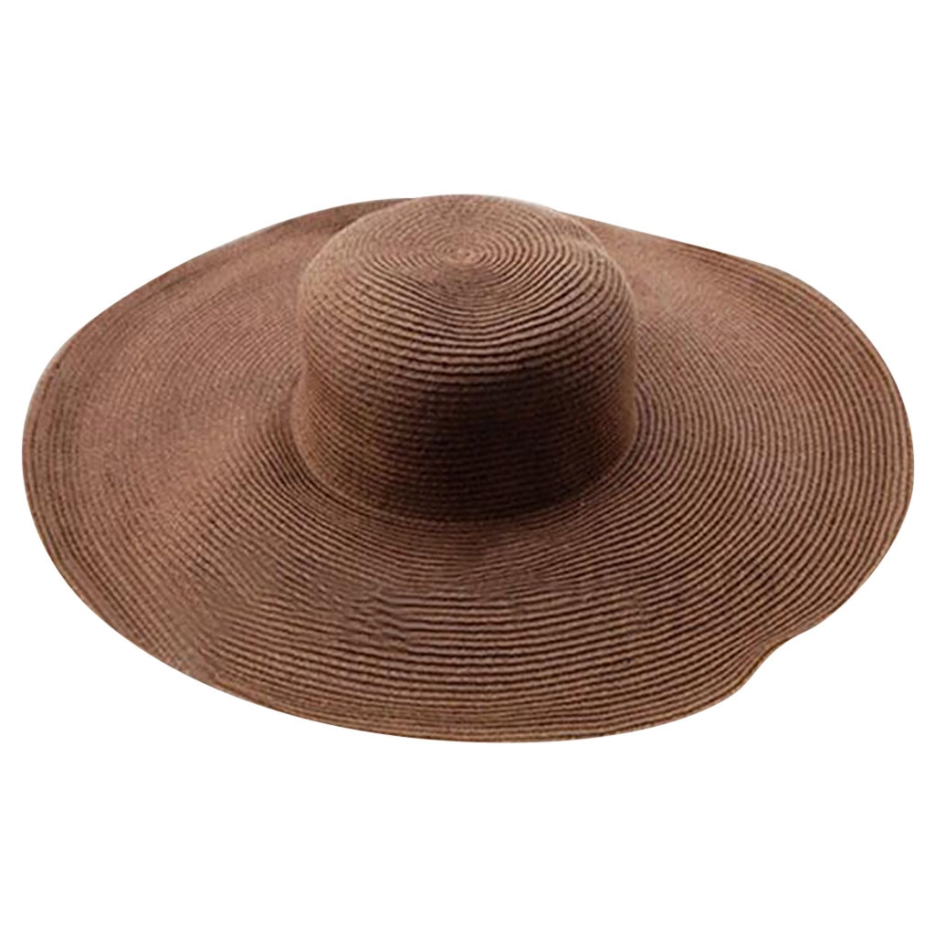 5be17973bacb9d Feature : Material: Straw Gender: Women This hat is good for traveling  Flexible, suitable for the majority of people's head Cap circumference:  57cm/22.4