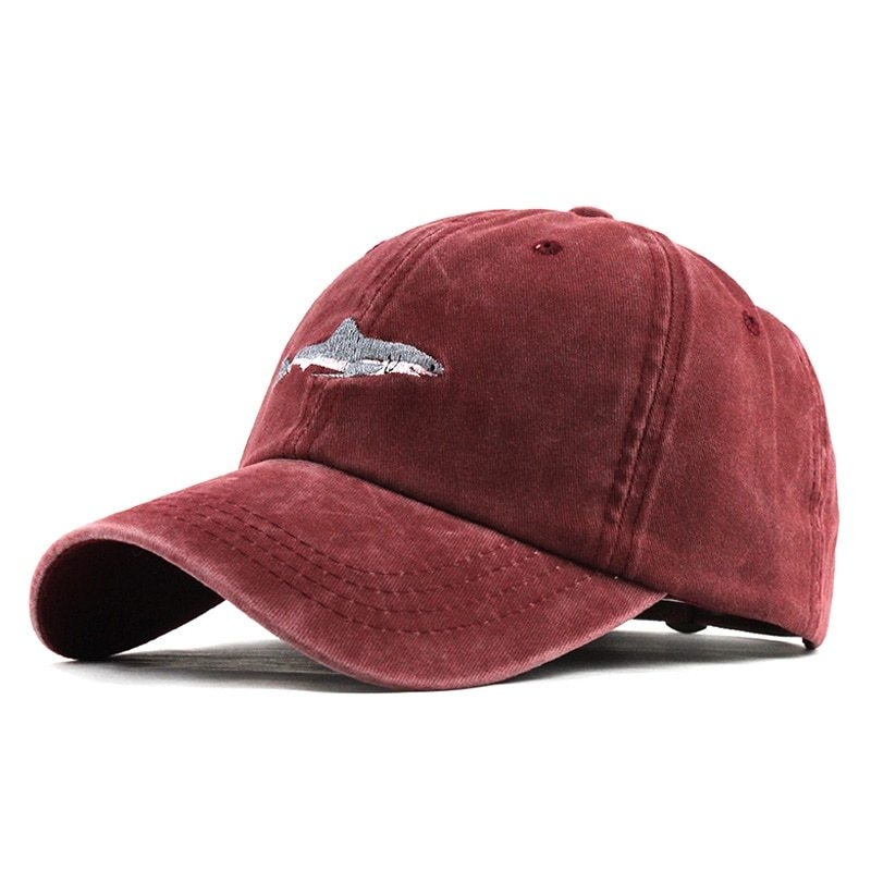 e9642aa00fa42 Generic 100% Washed Cotton Men Baseball Cap Fitted Cap Snapback Hat ...