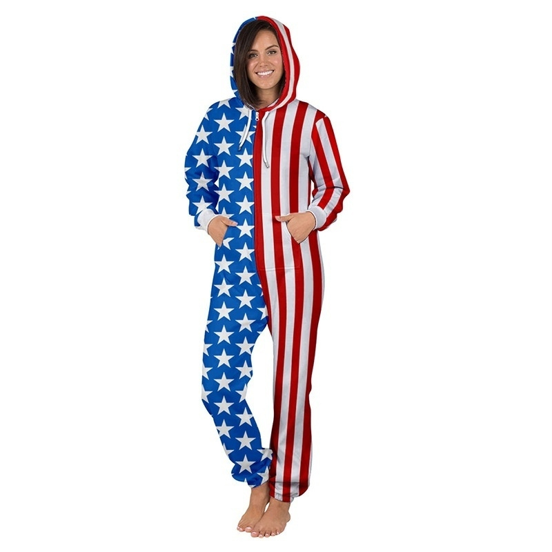 f171d00be8d1 ... image  image. Key Features. Digital Print  pants  Long Sleeve  onepiece   USA flag ...