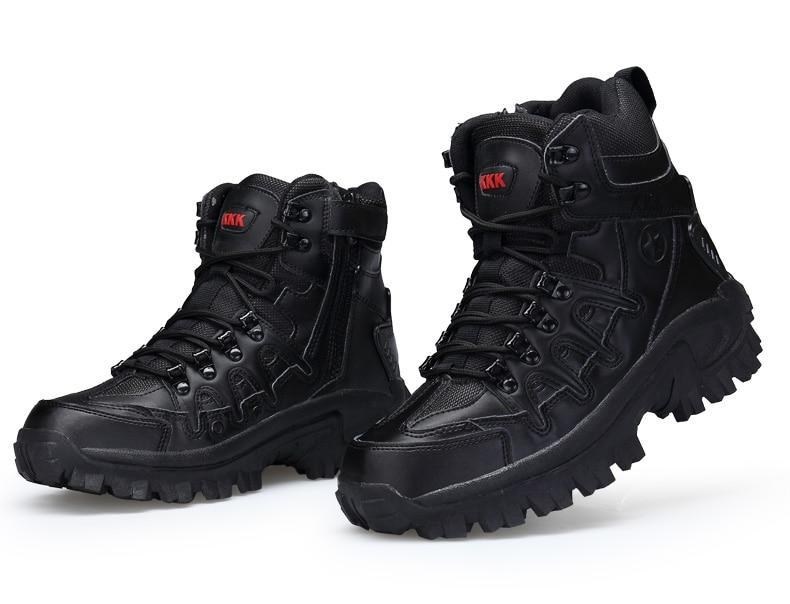 Brand Men\'s Boots Military boot Tactical Big Size Army Male Shoes Safety Combat Mens Chukka Ankle Bot Motocycle Boots (14)