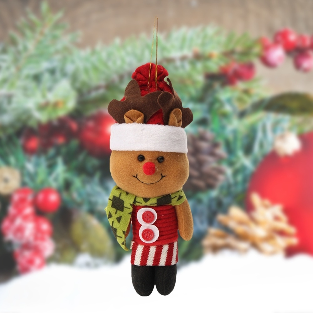 Generic Christmas Haning Dolls Tree Ornaments Snowman