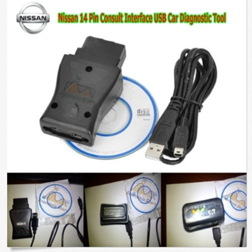 Generic AUOTO 14 Pin for Nissan Consult Interface USB Car