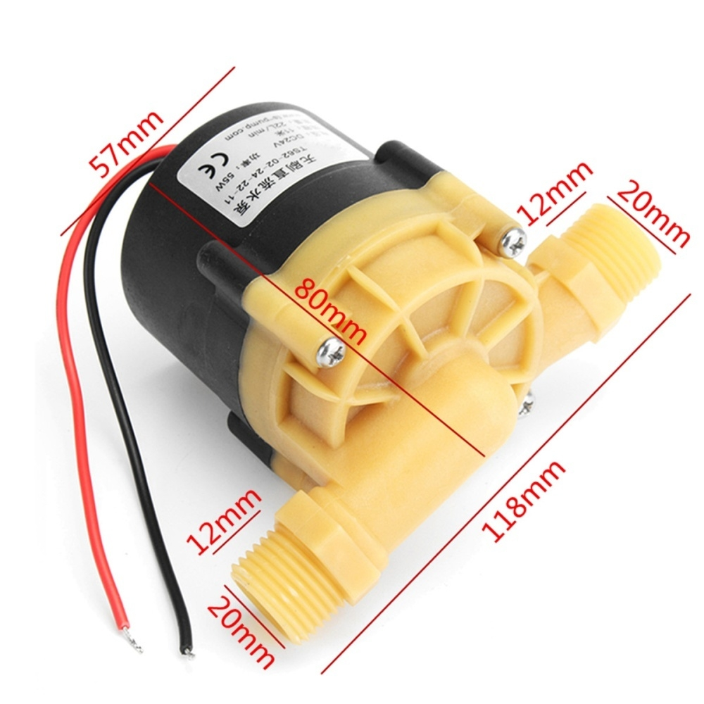 Generic DC 24V 11M Electric Water Heater Booster Pump For Chiller