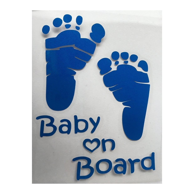 Generic or popular baby on board vinyl car graphics window sticker decal decor auto