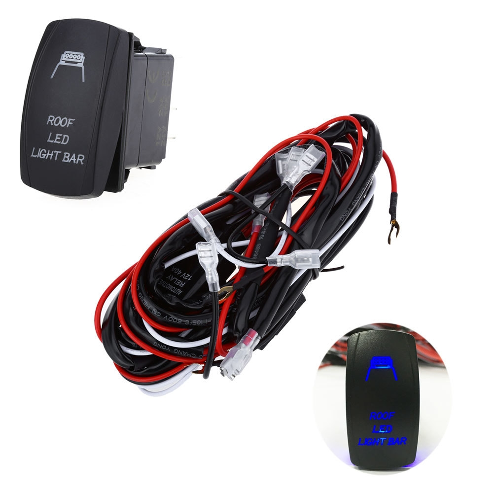 Buy Generic 5pin Car Relay Wiring Harness Loom Kit With Led Light 24v 40a Switch 20160520141221 90559 40914 17503 Key Features