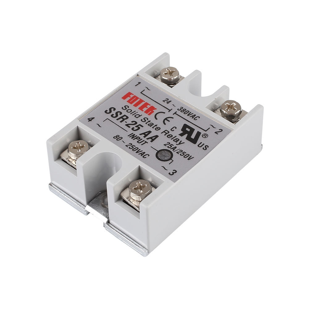 Buy Generic Output 24 380v 25a Ssr Solid State Relay Single Phase Ac Electrical Service Life Long And High Reliability Fast Switching Reduced Electromagnetic Interference Highly Reliable Compact Size Designed To Offer Users Maximum