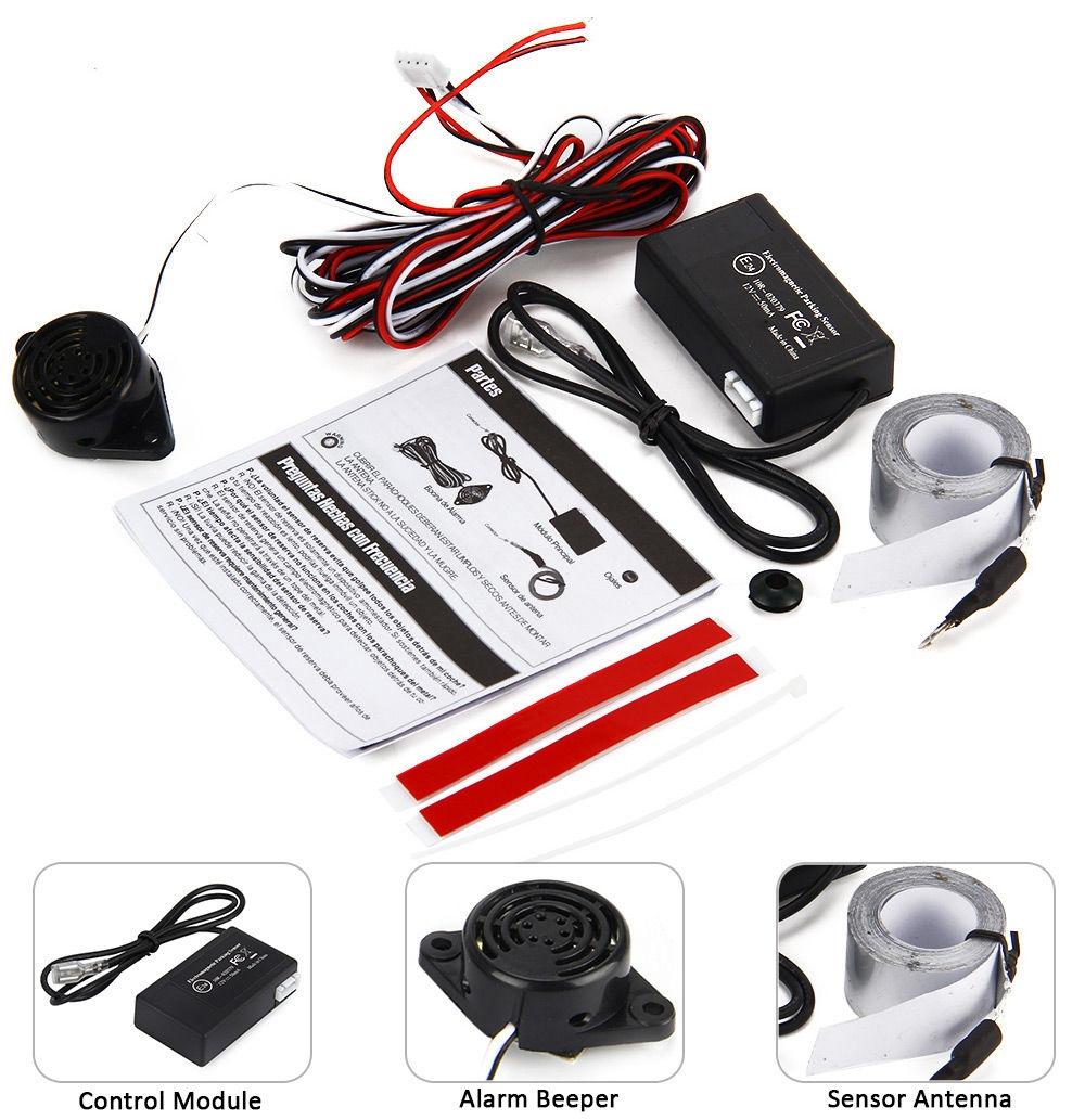 Electromagnetic Parking Sensor Back-up Alarm Parking Auxiliary Device