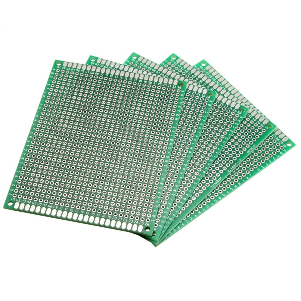 Generic 5PCS Dual Side Prototype Printed Circuit Board PCB