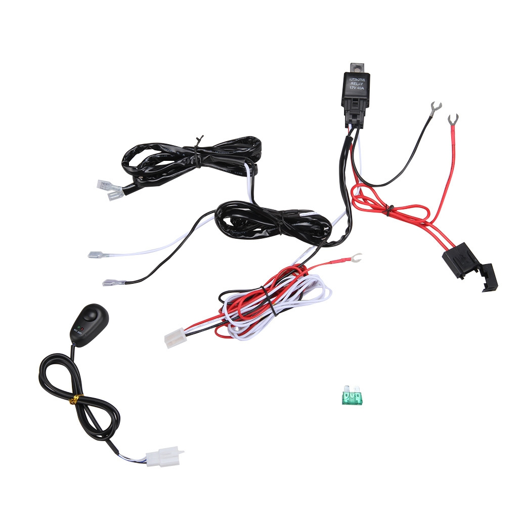 Buy Generic Relay Switch Control Wiring Harness Colormix Best Powerswitch Tail 1