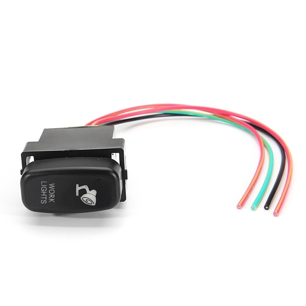 Buy Generic Mitsubishi Triton Mq Push Switch 207b Led Light Bar On Wiring Work Lights Image