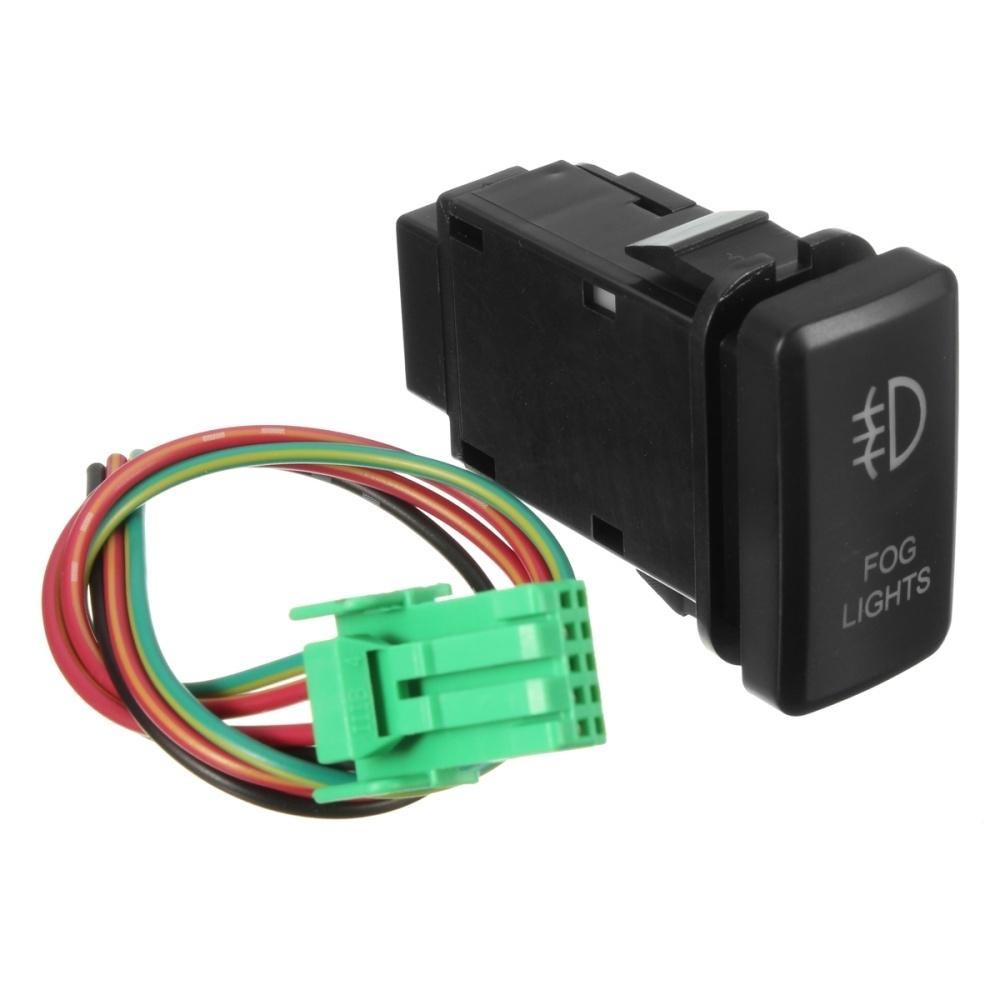 Buy Generic 12v Yellow Led Illuminated Fog Light On Off Switch For Wiring Diagram Toyota Landcruiser Hilux Prado