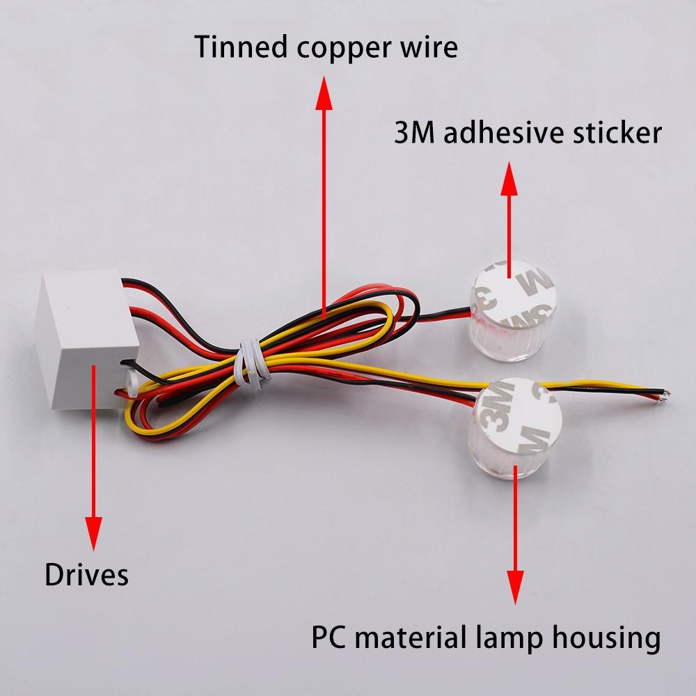 Buy Generic Jiuhap Store 2pc Led Turn Signals Indicators Blinkers Signal Wiring Diagram Image