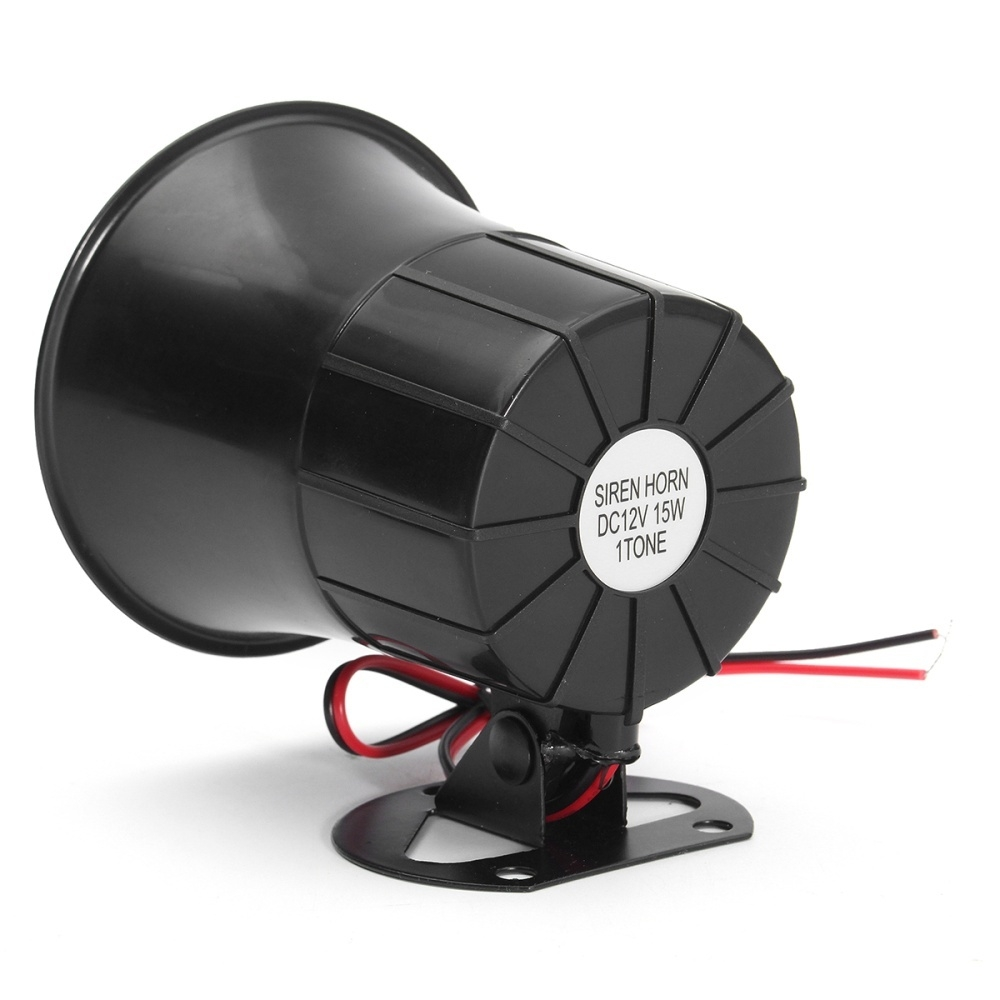 Buy Generic 12v 15w Car Truck Air Electric Siren Horn Speaker Auto Electronic 1 Image