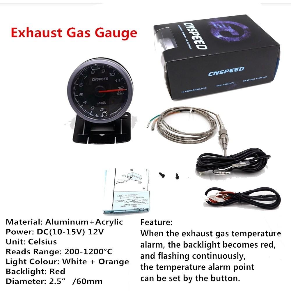 Generic Tachometer Gauge Blue LED Auto Mete @ Best Price