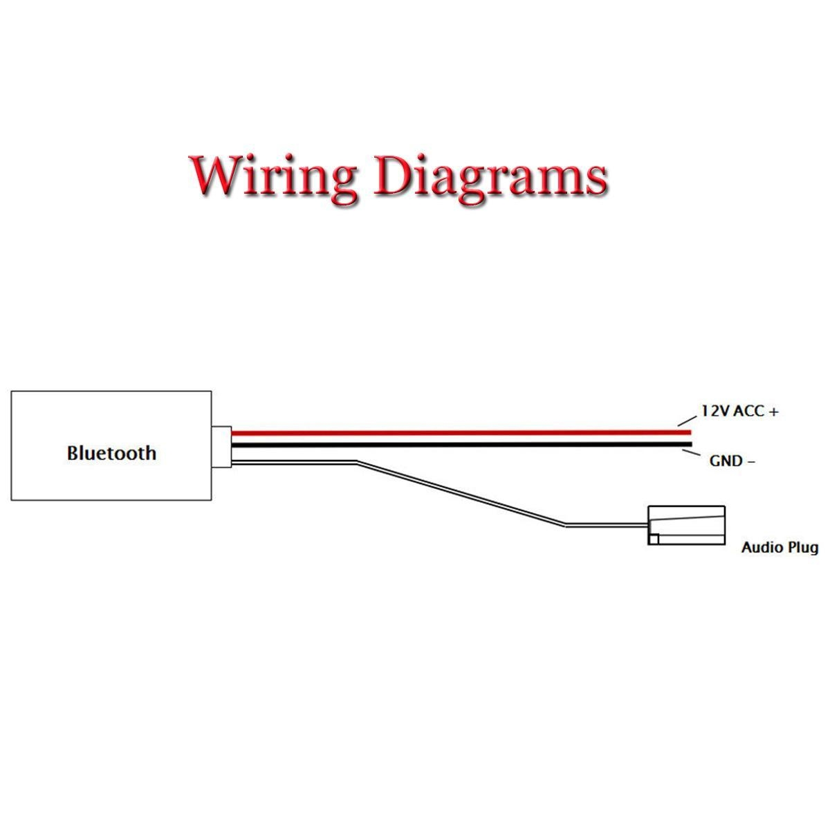 Buy Generic Bluetooth Adapter Aux Cable For Bmw Mini One Cooper S Wiring Diagram Stereo Image