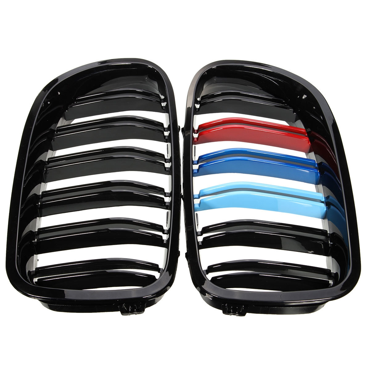 Generic New Shiny Black Front Sport Kidney Grill Grille For