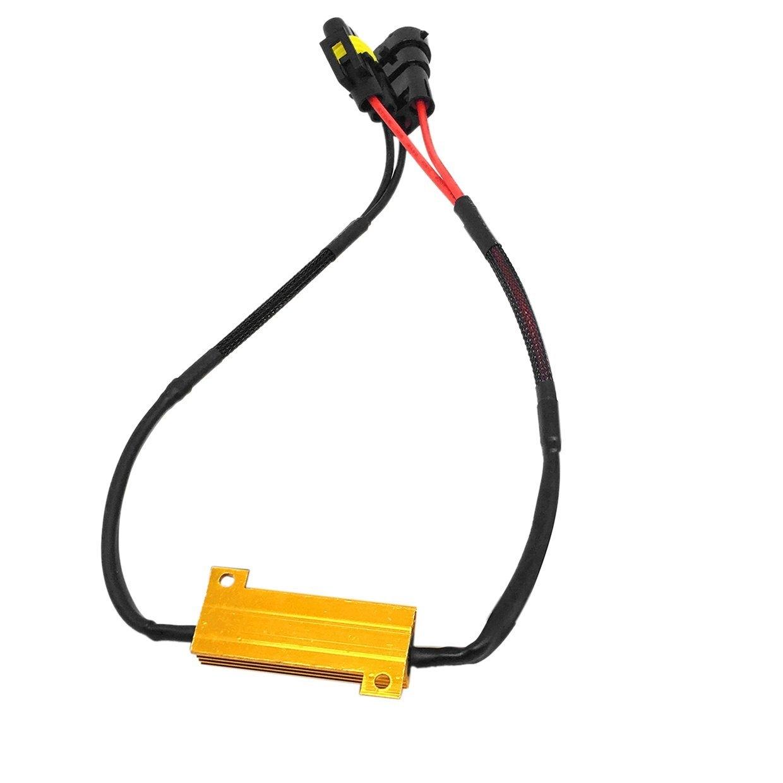 Generic OR DC12V 50W H8 H11 LED Fog Light Wiring Harness Kit ... on