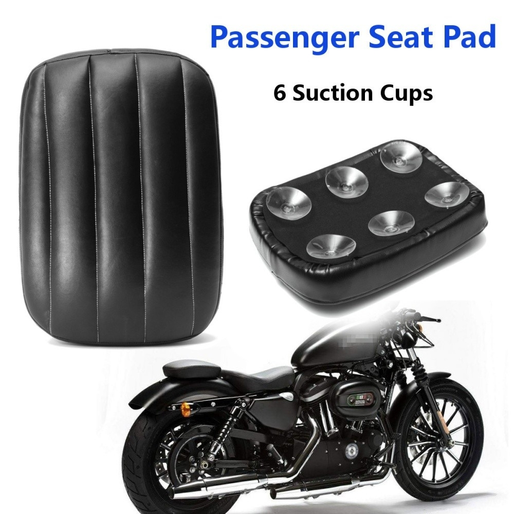 Generic Passenger Rectangle Seat 8 Suction Cup F/ Harley