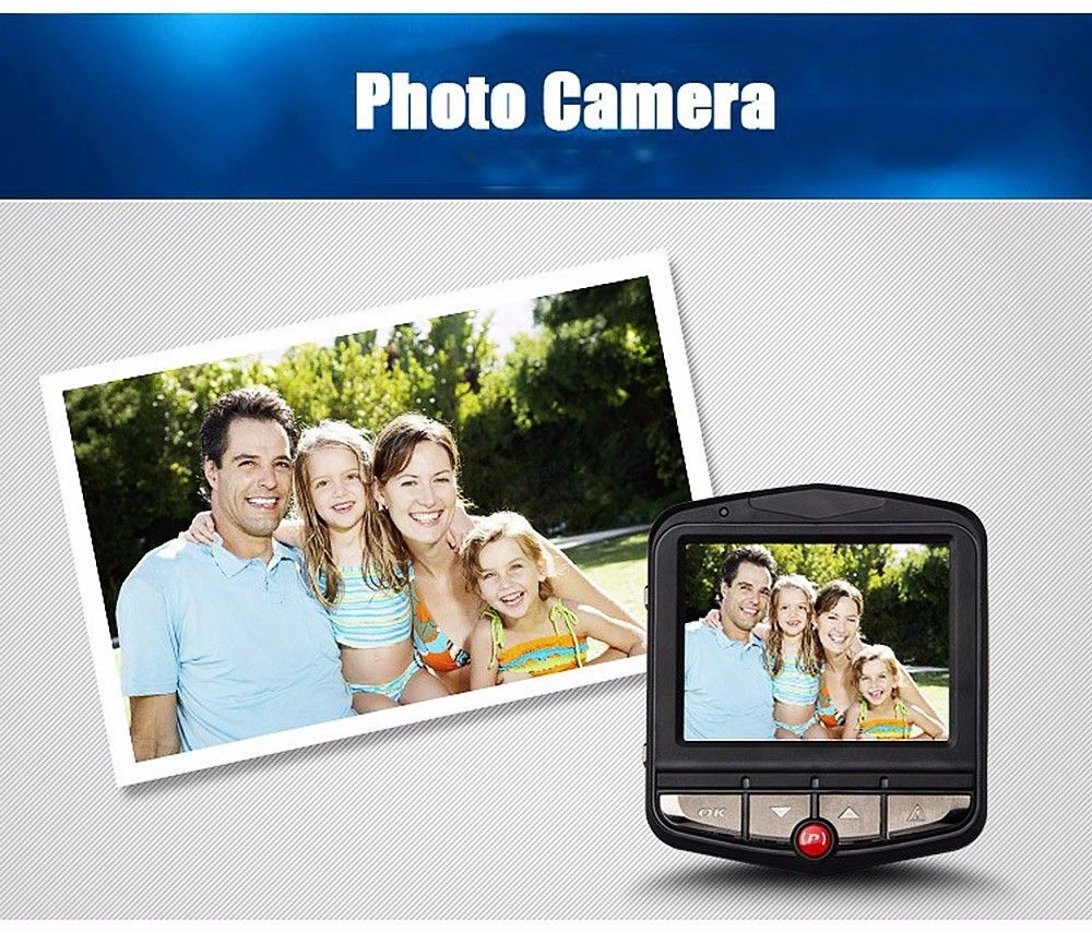 RH - H400 Mini 2.4 Inch Car DVR Camera Dash Cam 1080P Full HD Video Registrator Recorder G-sensor Night Vision