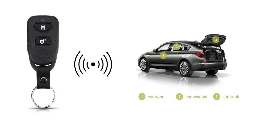 LB - 406 L240 Automobile Remote Central Lock Keyless Entry System Power Window Switch Car Alarm