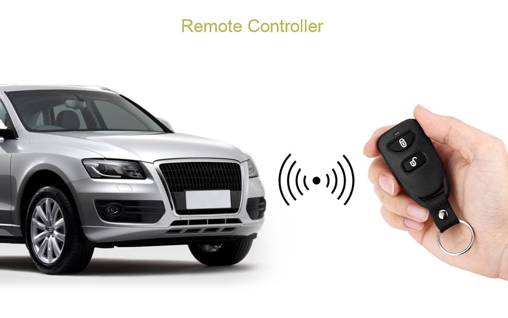 LB - 406 L240 Automobile Remote Central Lock Keyless Entry System Power Window Switch Car Alarm