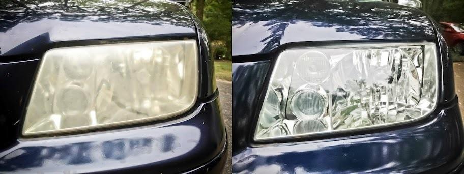 Image result for headlight restoration before after