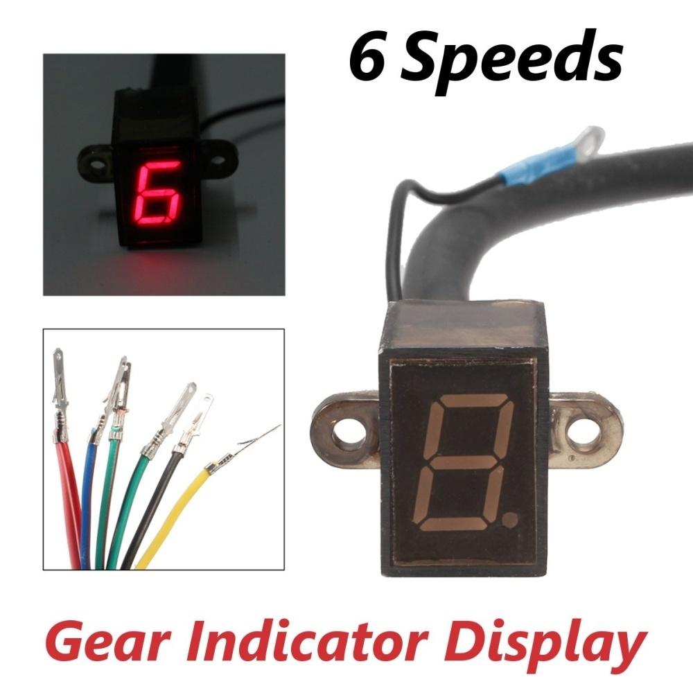 Generic Universal 6 Speed Digital Gear Indicator Display Shift Lever