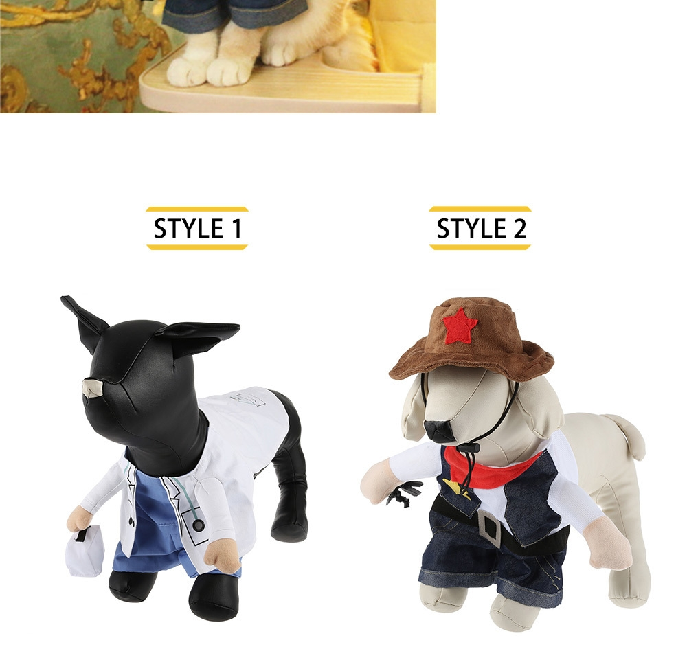 Pet Dog Cat Halloween Costume Clothes