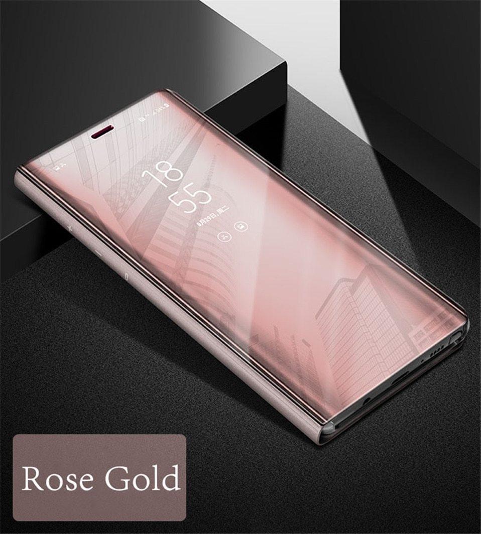 Luxury Mirror cases for iphone 6 6s 7 8 Plus X 08