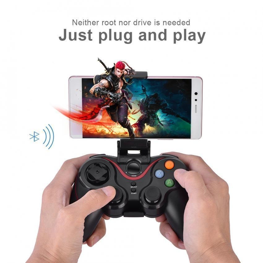 Generic T3- Bluetooth Wireless Game Controller Gamepad