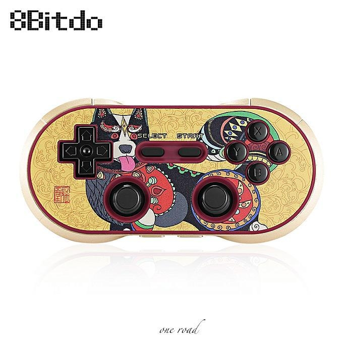 8Bitdo FC30 Pro Wireless Bluetooth Gamepad Limited Edition for Dog Year
