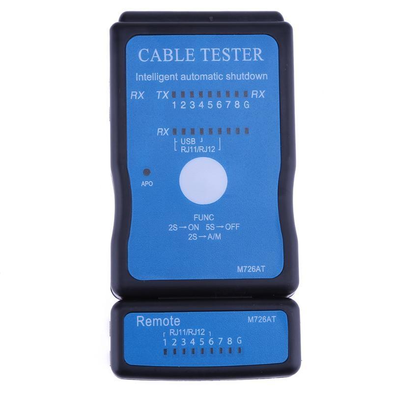 Generic Telephone USB A B Cable Tester RJ11 Phone RJ12