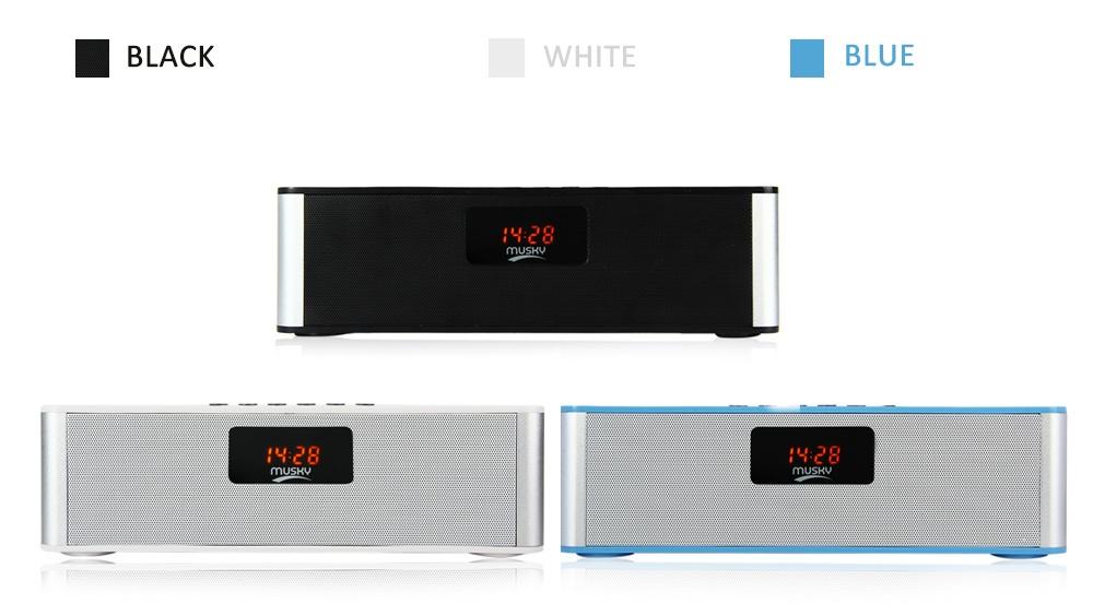 MUSKY DY21L Multimedia Mini HIFI  V4.0  Bluetooth Speaker with Stereo FM AUX