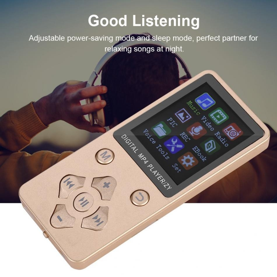 Generic Portable MP3 Music Player TF Card MP4 Video Player Support