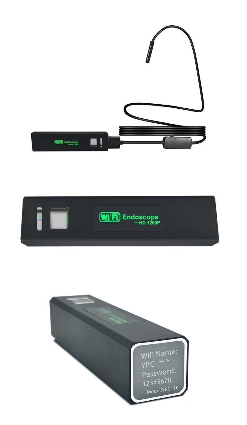 Generic USB 1200P Wifi Endoscope Rigid Hard Wire IP68
