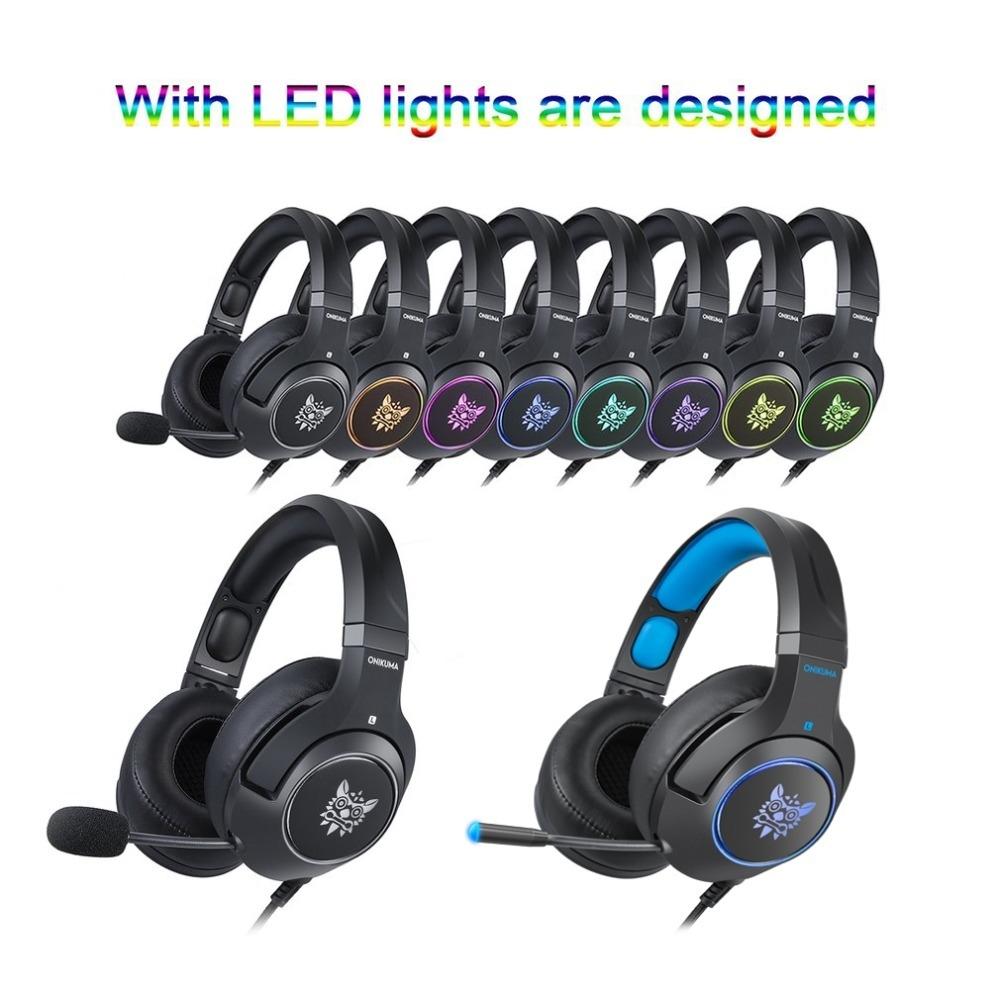 Generic K9 Gaming Headset Casque PC Stereo Gaming Headphones
