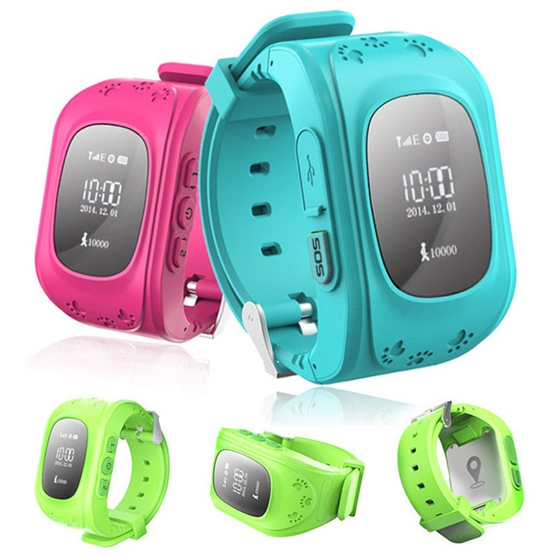 Generic Retro Q50 (Malaysia OLED Version) Smart Phone Watch GPS Anti