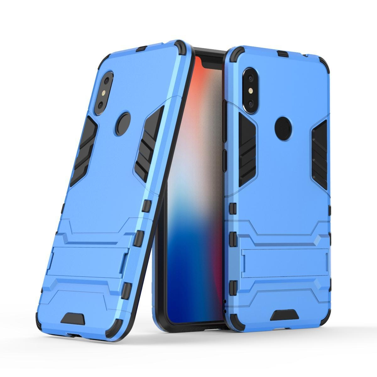 Generic Iron Man Hard Armor Case for Huawei Y7 Prime (2018