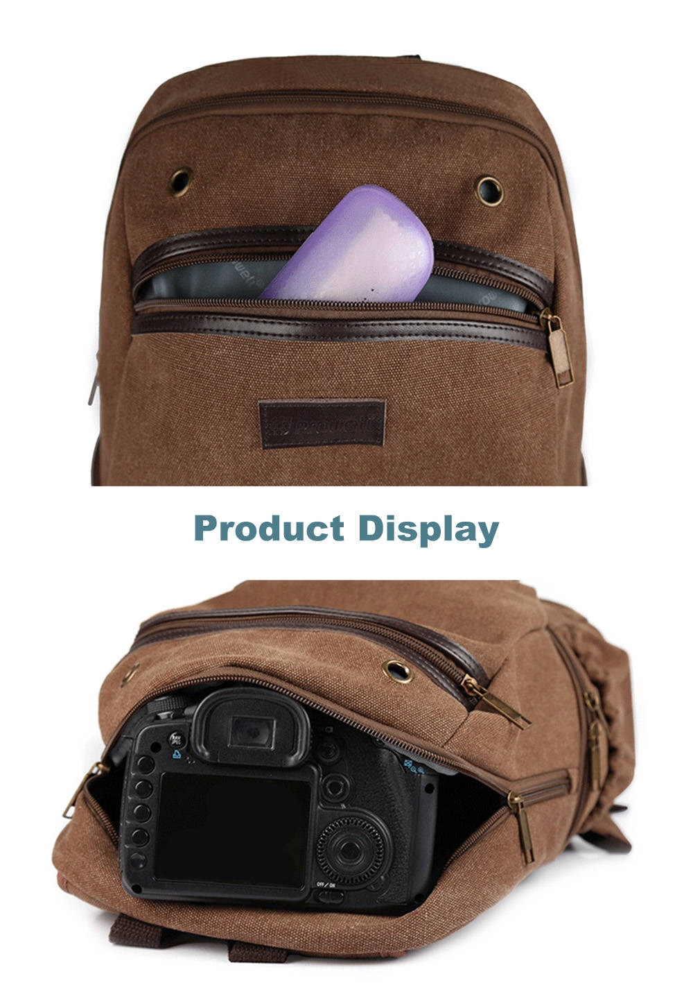 PROWELL DC22022 DSLR Camera Photography Backpack