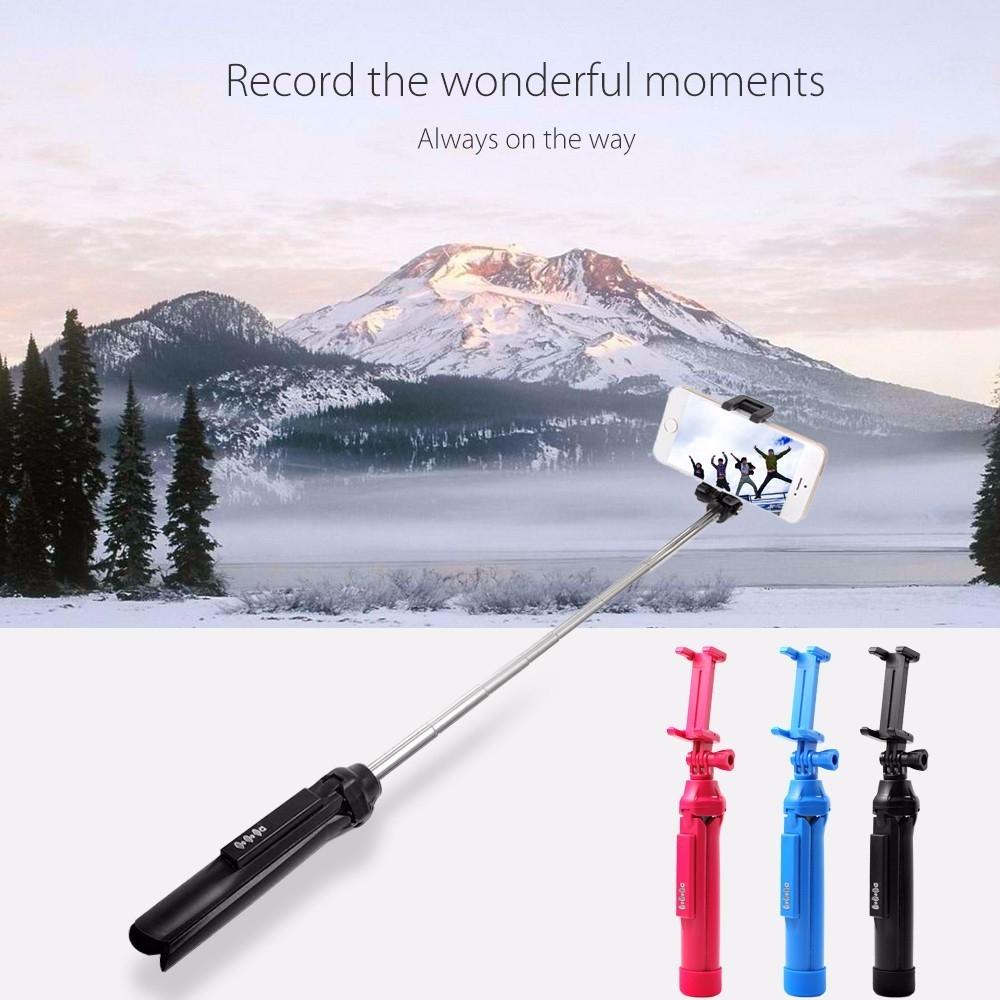 Wireless Bluetooth 40 Selfie Monopod With Tripod