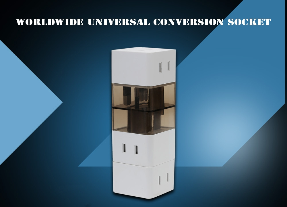Universal Travel Conversion Socket Changeover Plug