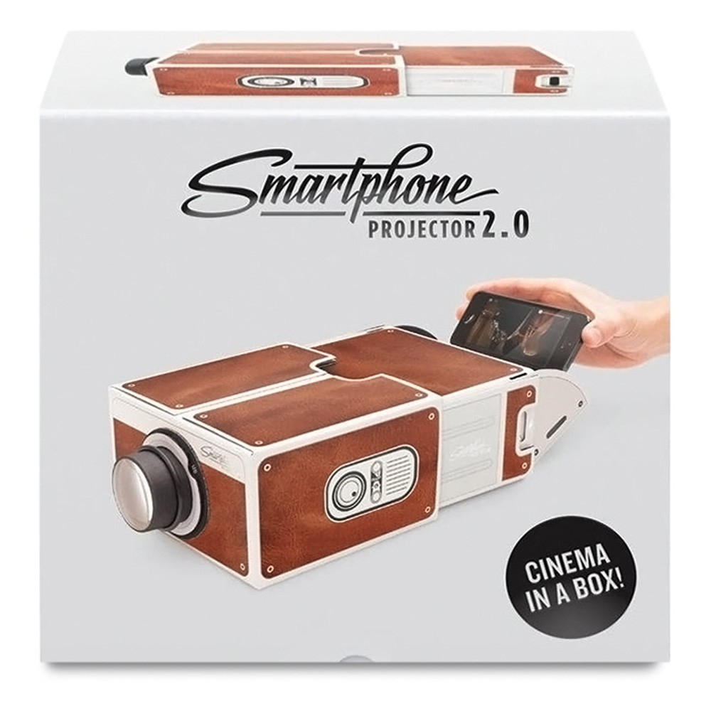 image. image. image. Key Features. Smart Phone Projector; Cinema Mini Projector; Toy Gift. What's in the Box. 1 x Portable DIY Cardboard ...
