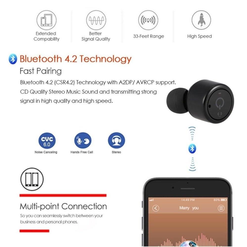 Generic [CE Certification] X1T Mini True Stereo Wireless