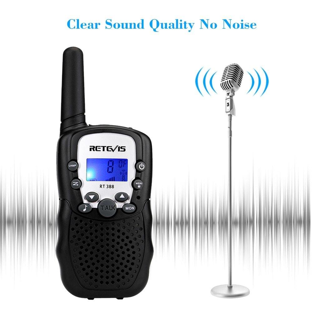 Generic 2PCS RT388 Mini Walkie Talkie Portable Two Way Radio