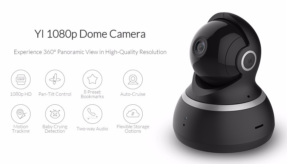 Generic Xiaomi 1080P Dome Camera Pan-Tilt Control 112
